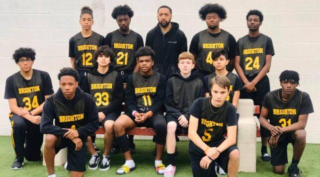 High School Boys Basketball Team